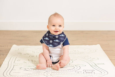 Reed's Chasing Arrows | Baby Bib