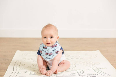 Kayden's Midnight Mountain | Baby Bib