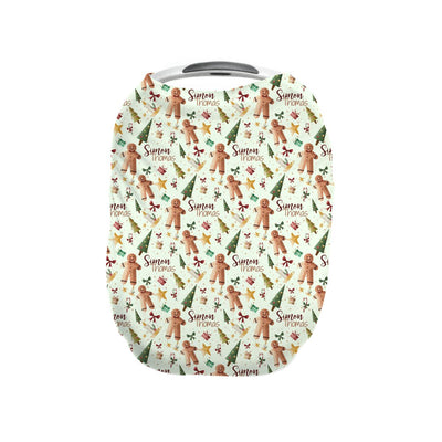 Simon's Gingerbread Man | Car Seat Cover (Multi-Use)