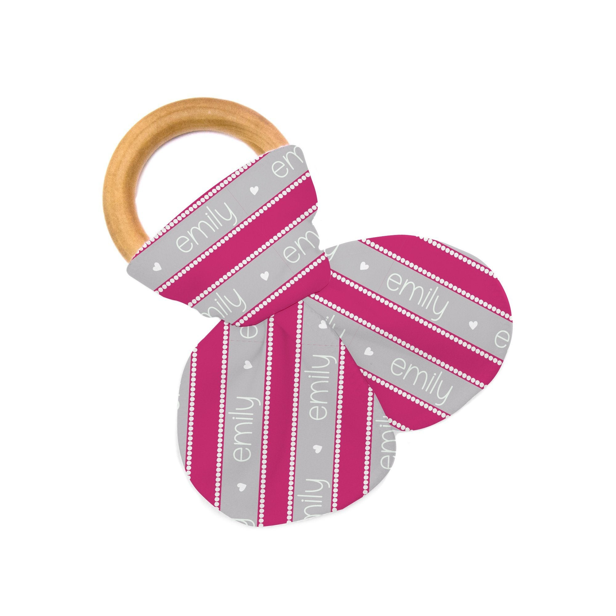 Zoe's Dots and Stripes | Teether