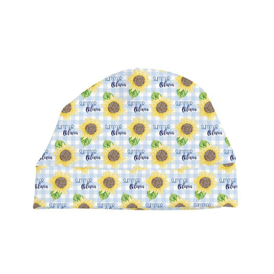 Summer's Sweet Sunflower | Swaddle and Hat Set