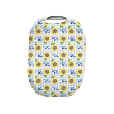 Summer's Sweet Sunflower | Car Seat Cover (Multi-Use)