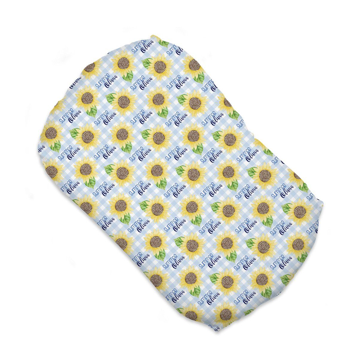 Summer's Sweet Sunflower | Sleep Nest Covers for SnuggleMe Organic™