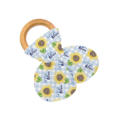 Summer's Sweet Sunflower | Teether