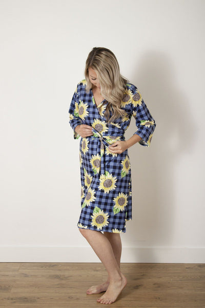 Summer's Sweet Sunflower | Robe