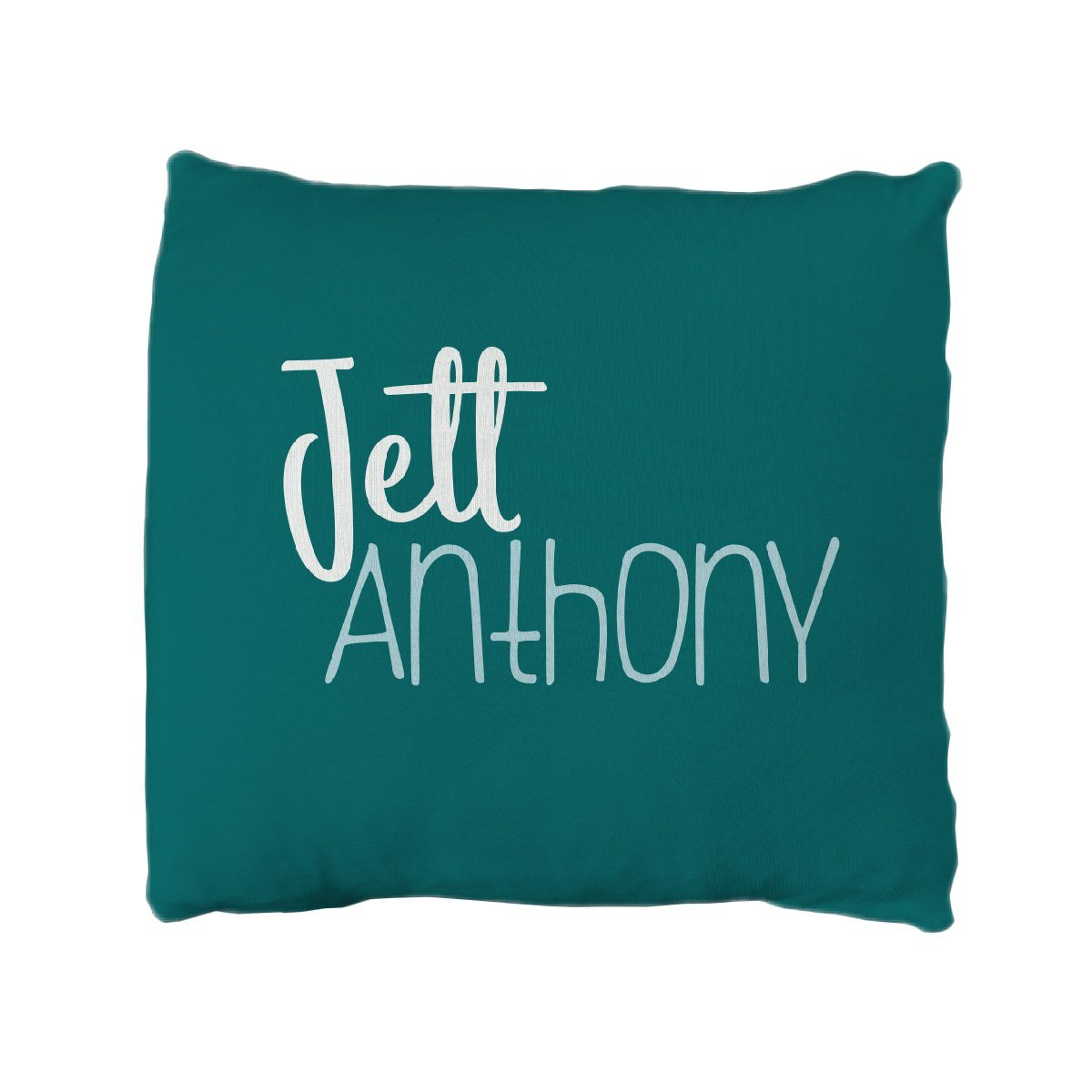 Jett's Jungle Camo | Big Kid Throw Pillow