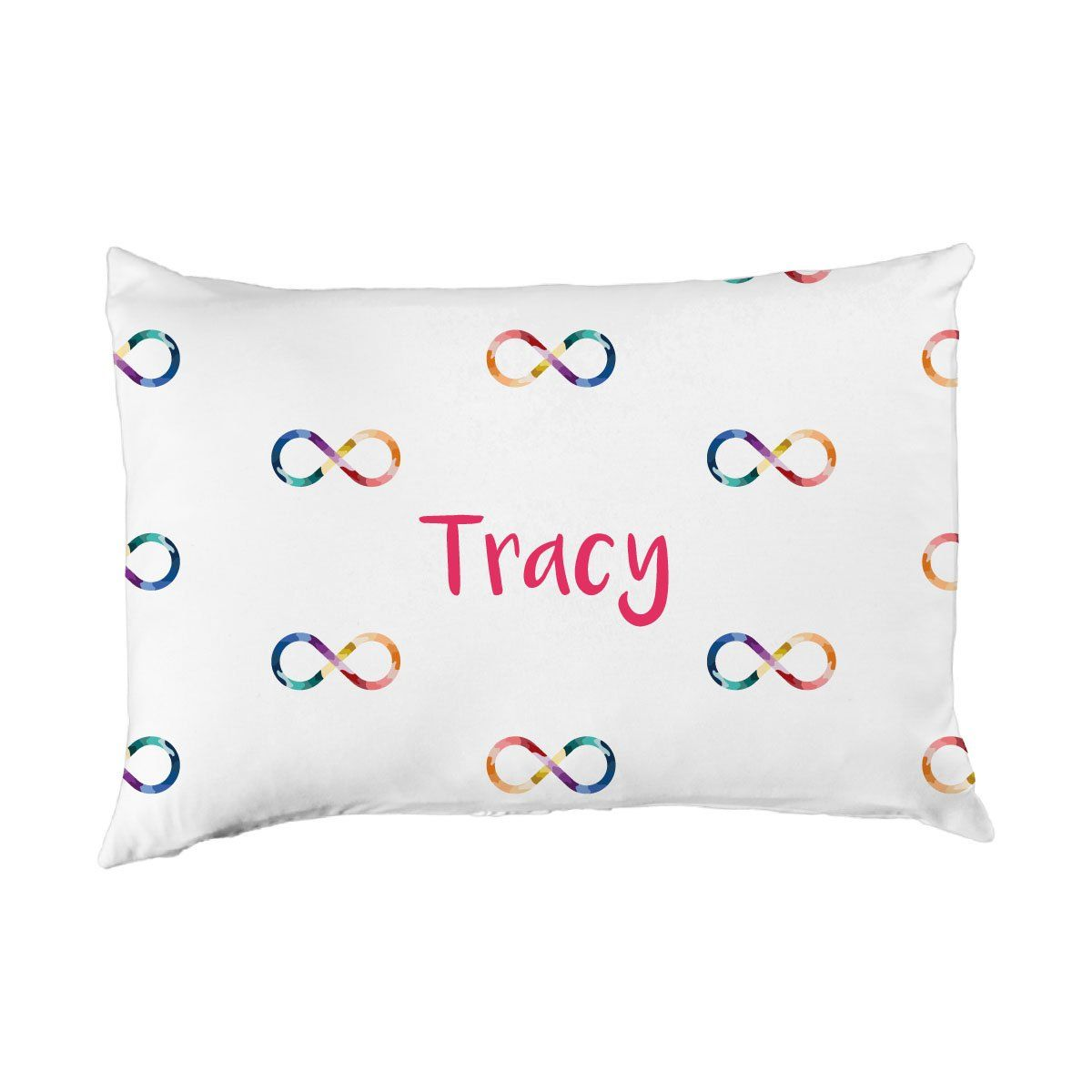 Tracy's Infinity Sign | Big Kid Pillow Case