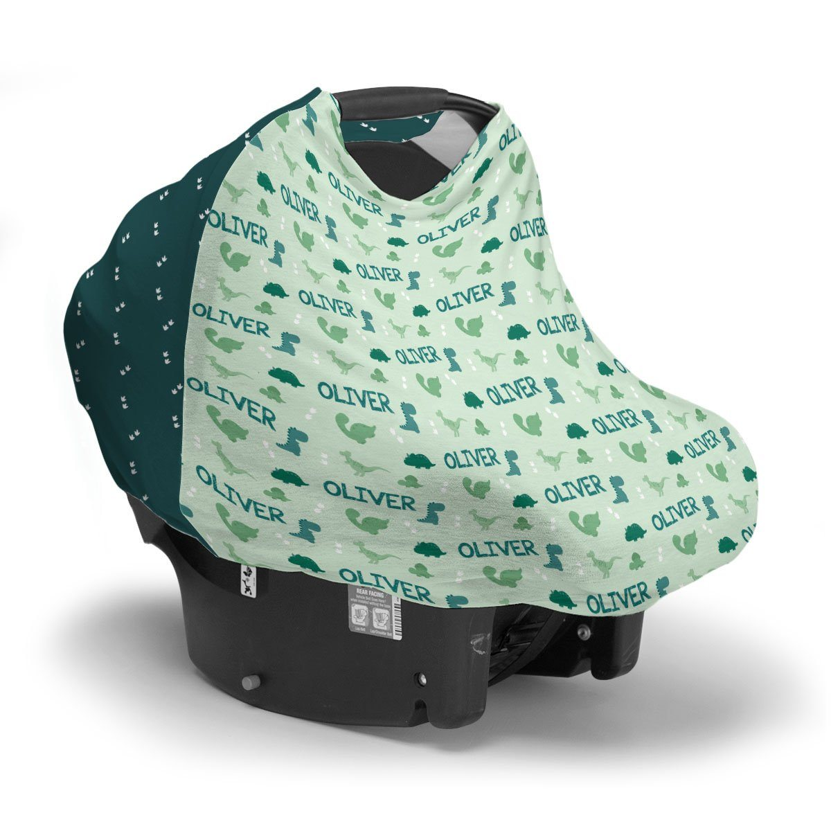 Ty's Dino Tracks | Car Seat Cover (Multi-Use)
