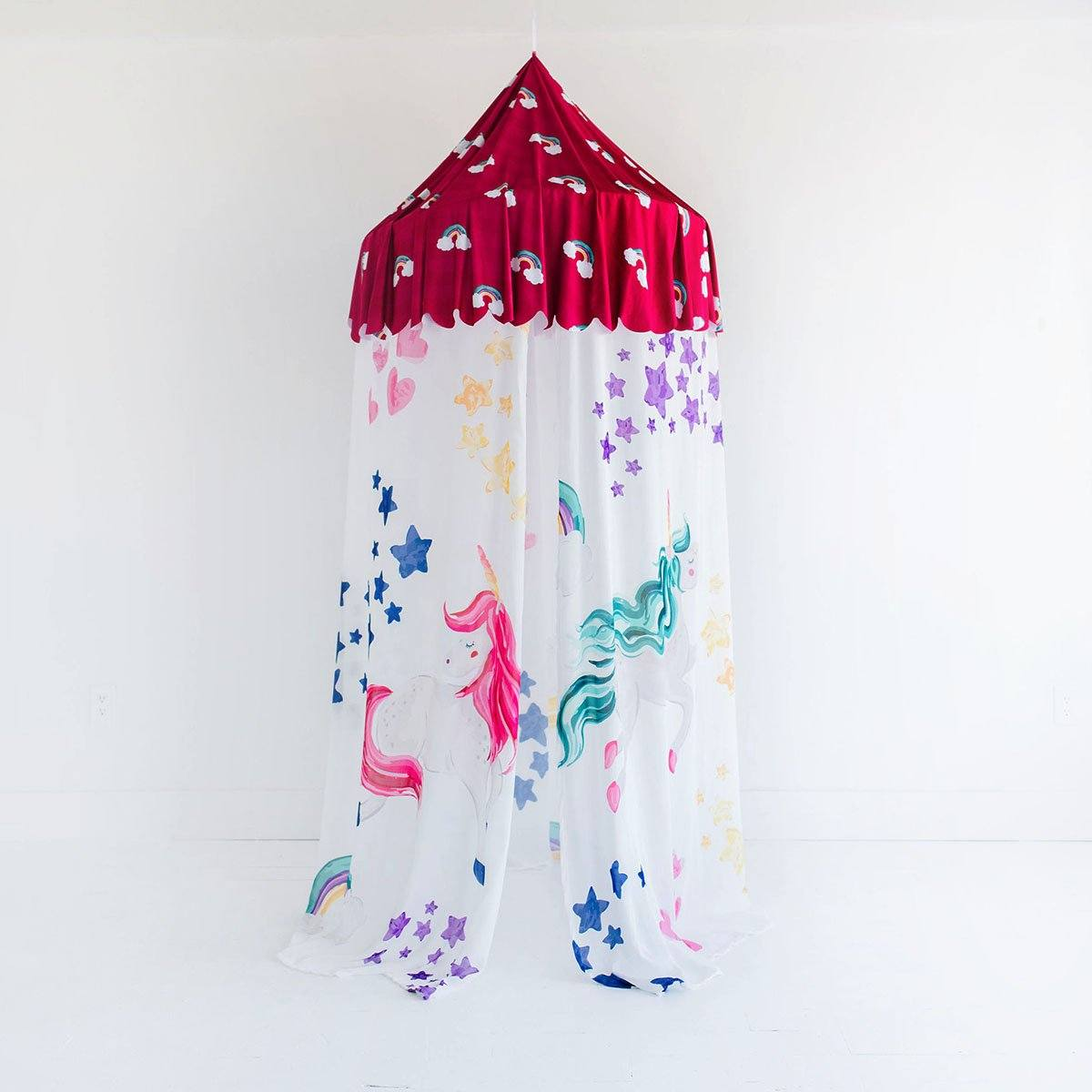 Luna's Magical Unicorn | Hanging Canopy Tent