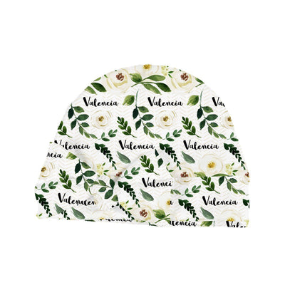 Valencia's Floral Tribe | Swaddle and Hat Set