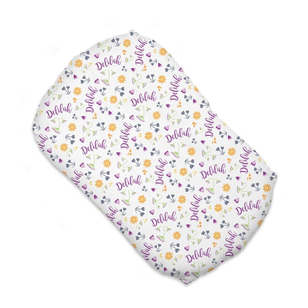 Abby's Wildflower | Sleep Nest Covers for SnuggleMe Organic™