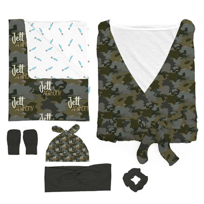 Crew's Woodland Camo | Mommy & Me Bundle