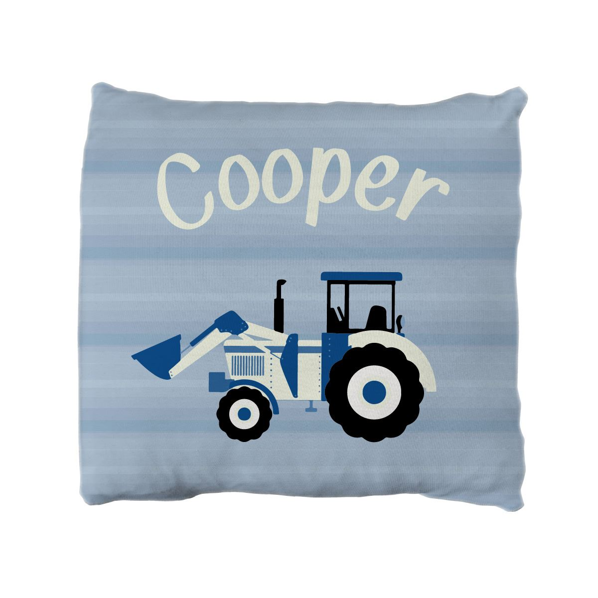 Taylor's Tractors | Big Kid Throw Pillow