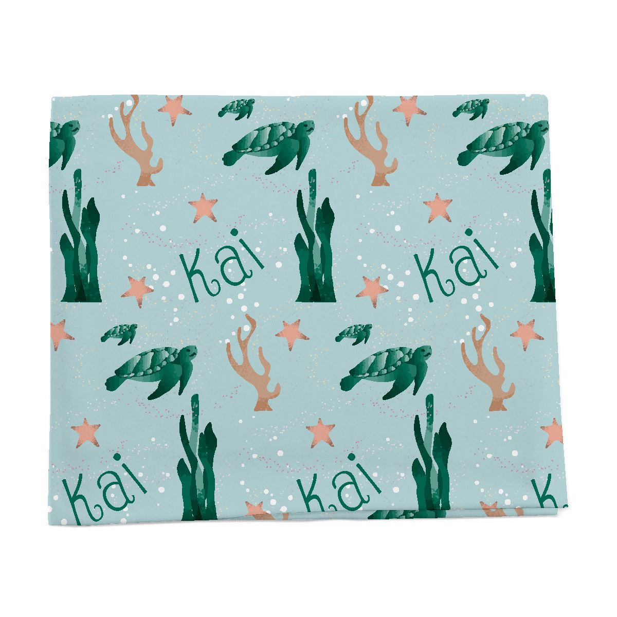 Kai's Serene Sea Turtle | Swaddle