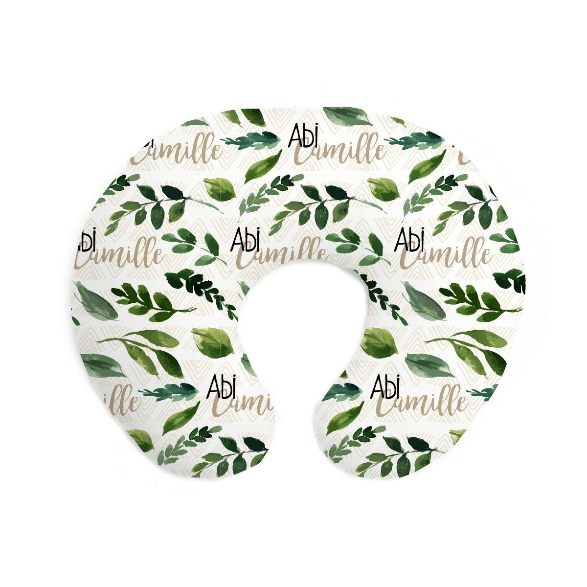 Abi's Sketchy Greenery | Pillow Cover for Boppy®