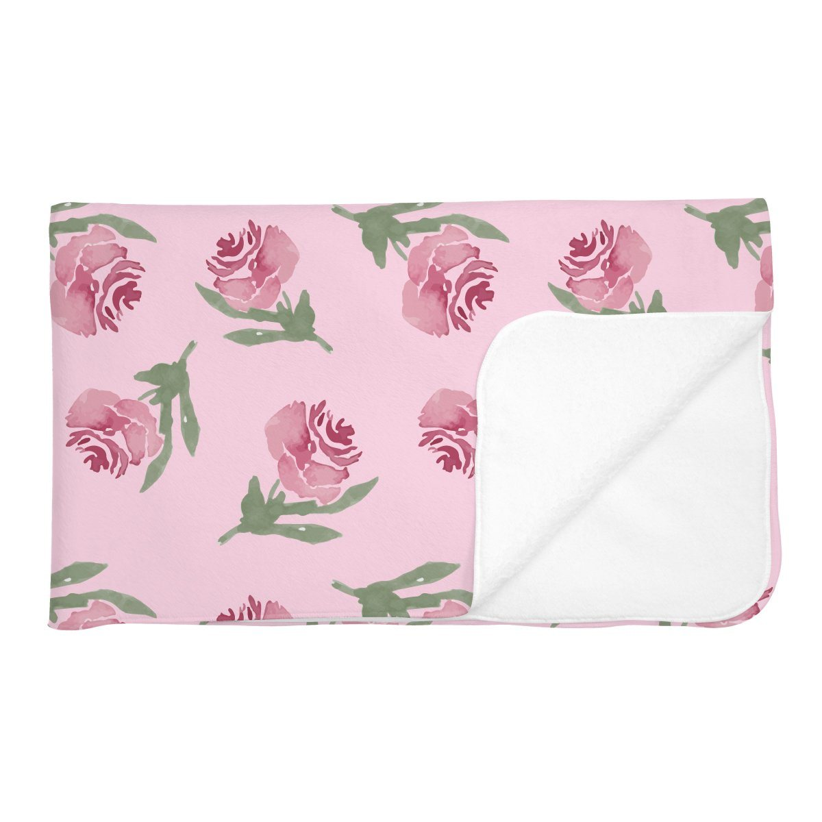 Amelia's Antique Floral | Adult Size Blanket