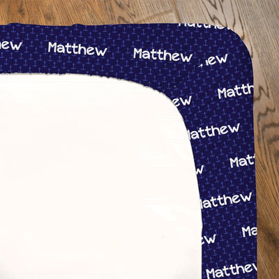 Arlo's Anchors Aweigh | Fitted Crib Sheet
