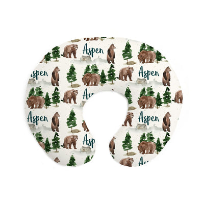 Aspen's Brown Bear | Pillow Cover for Boppy®