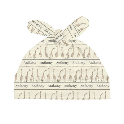 Kofi's Gentle Giraffe | Swaddle and Hat Set