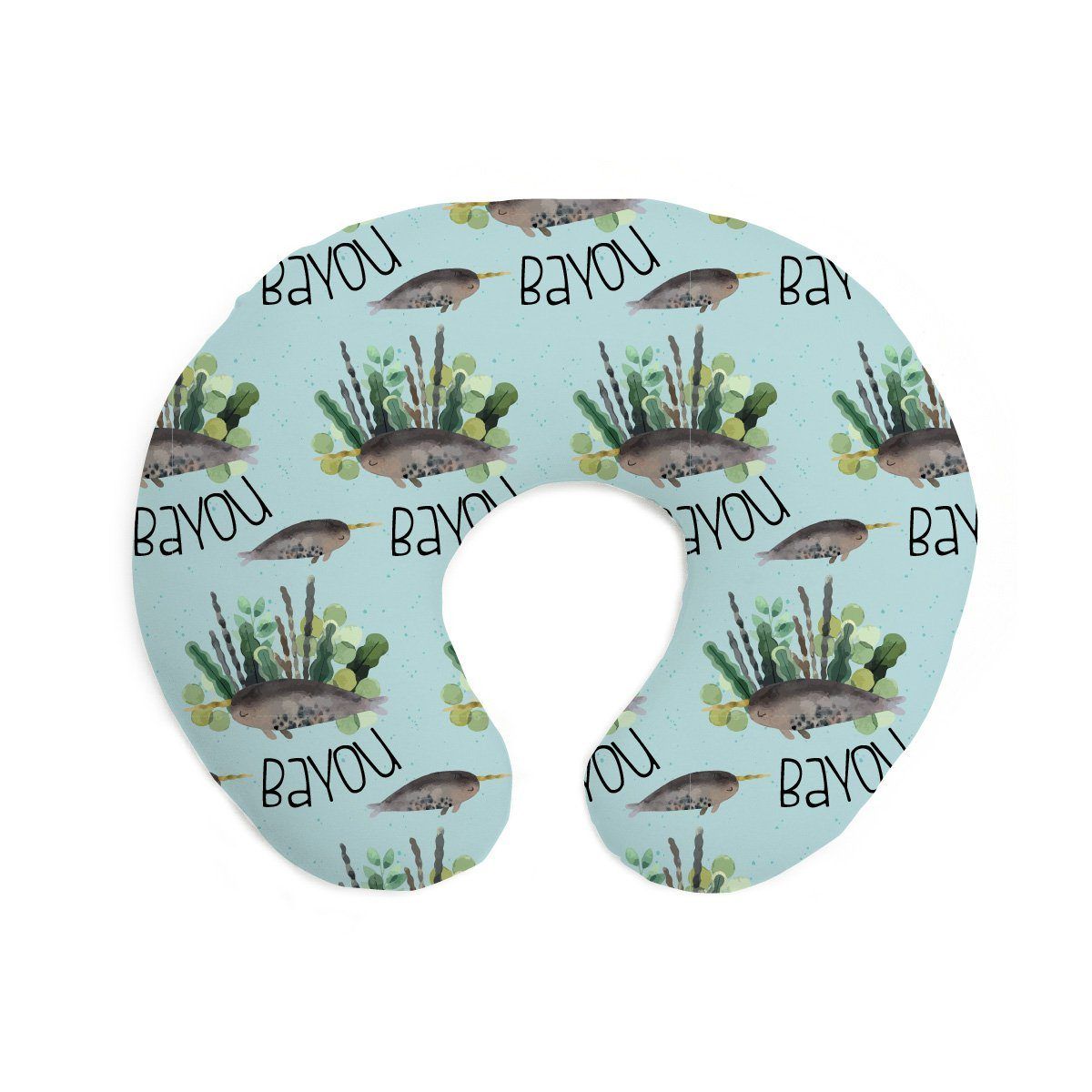 Bayou's Deep Sea Narwhal | Pillow Cover for Boppy®