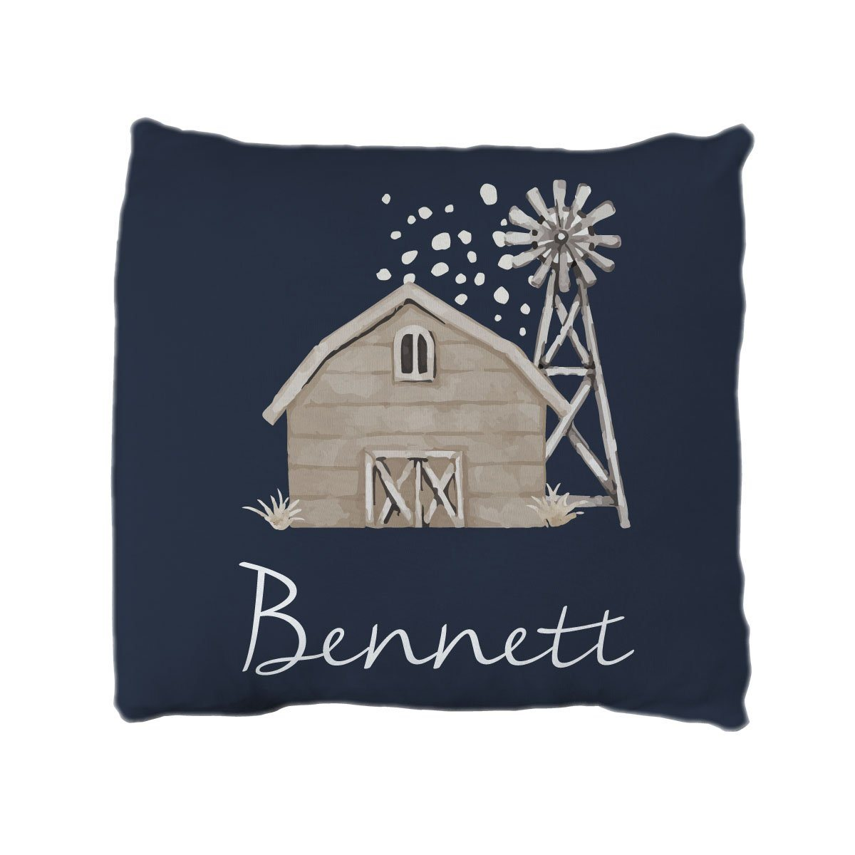 Bennett's Modern Farmhouse | Big Kid Throw Pillow