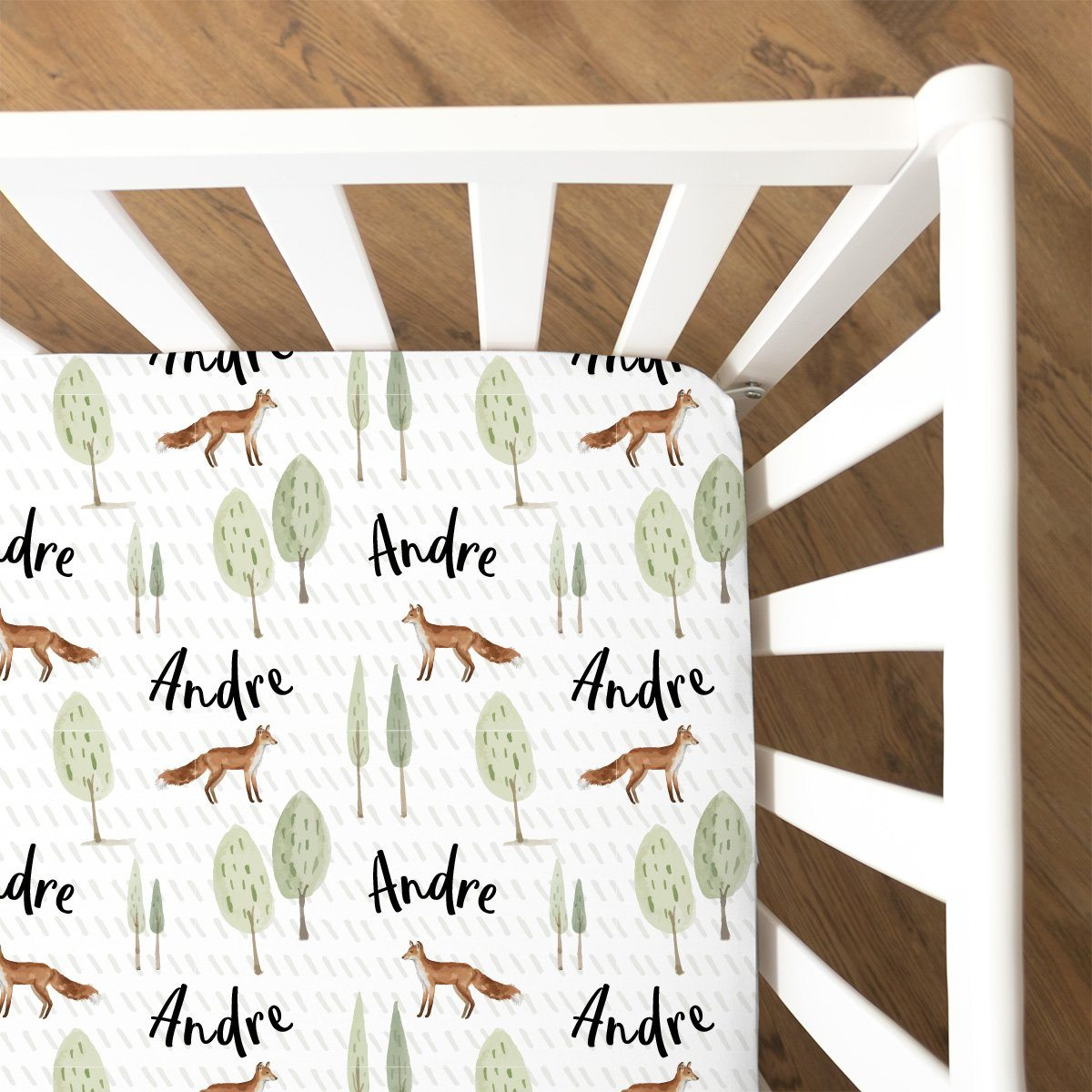 Brene's Walk Through the Woods | Fitted Crib Sheet
