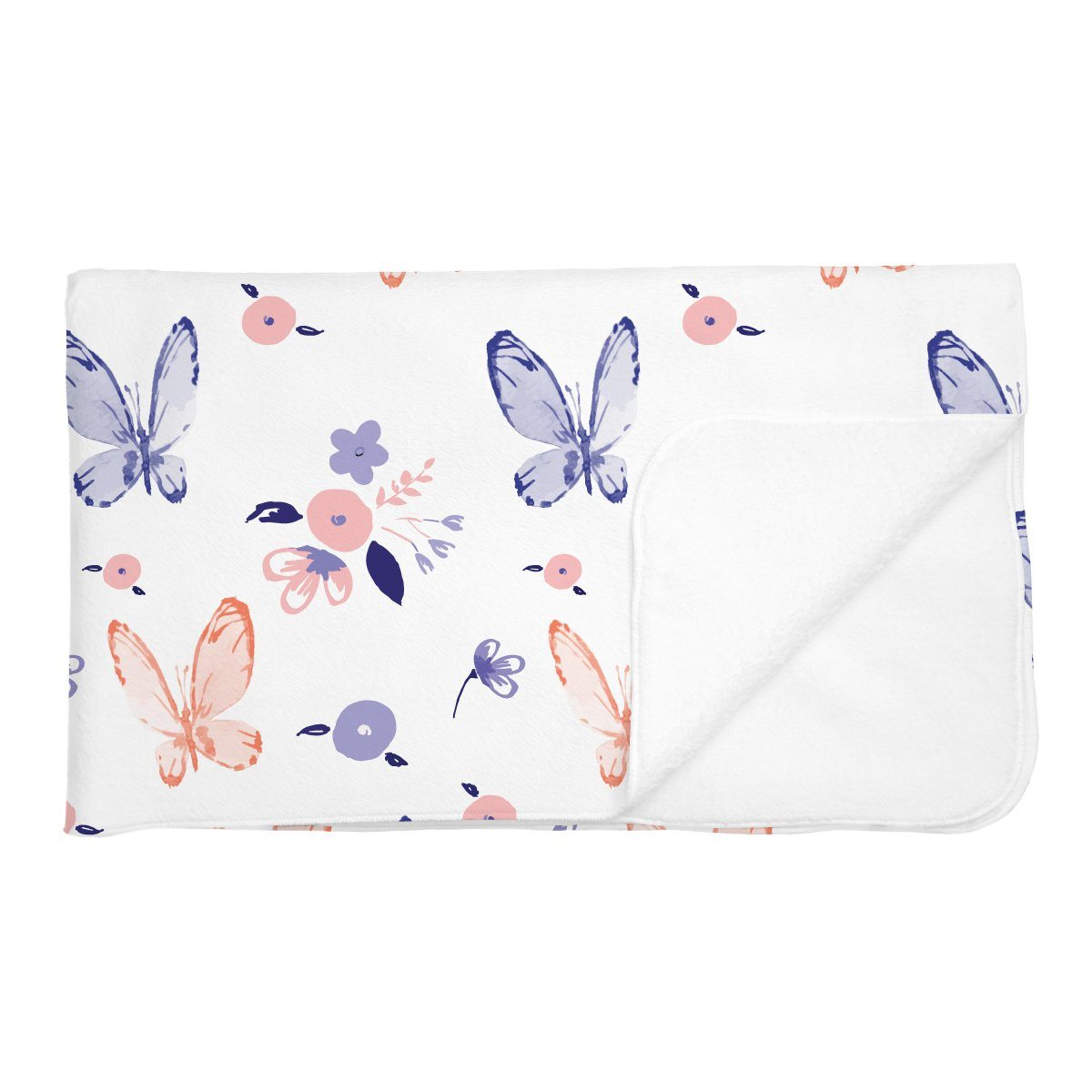 Angelina's Summer Butterfly | Adult Size Blanket