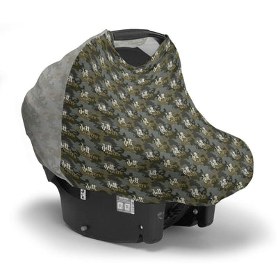 Crew's Wooland Camo | Car Seat Cover (Multi-Use)