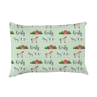 Kristy's Barnyard | Big Kid Pillow Case