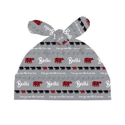 Bodhi's Bear Mountains Are Calling | Swaddle and Hat Set