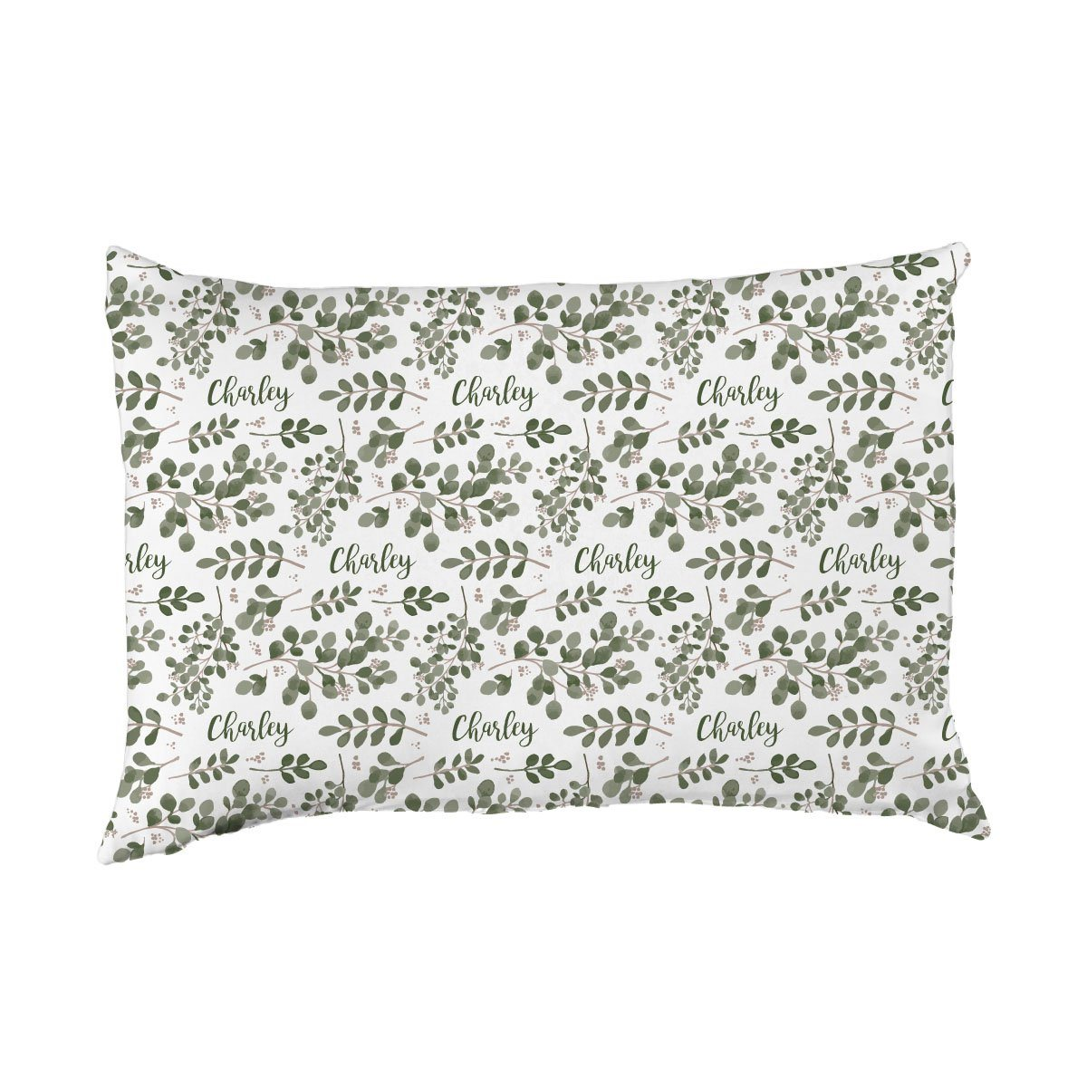 Charley's Farmhouse Greenery | Big Kid Pillow Case