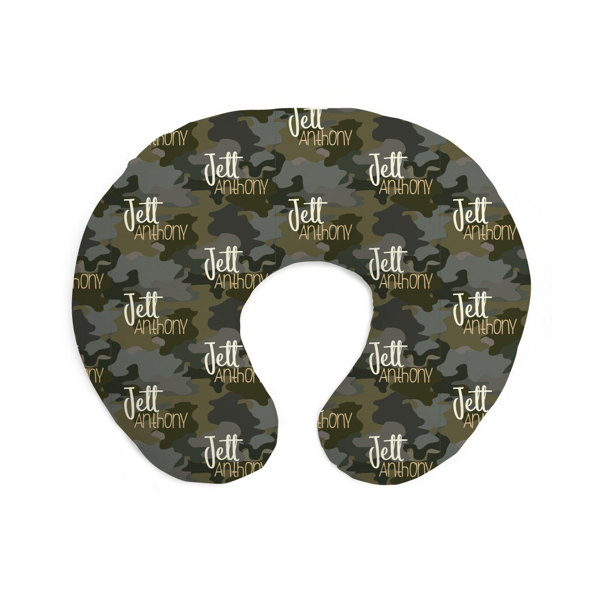 Crew's Woodland Camo | Pillow Cover for Boppy®