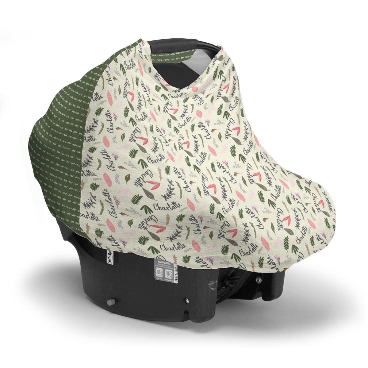 Amani's Floral | Car Seat Cover (Multi-Use)
