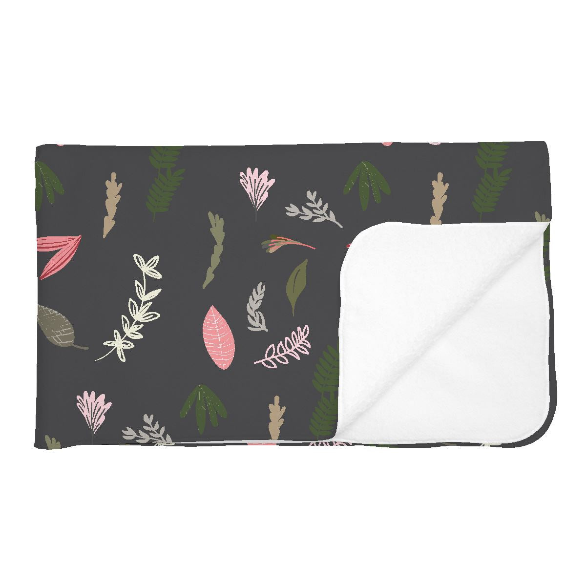Amani's Floral | Adult Size Blanket