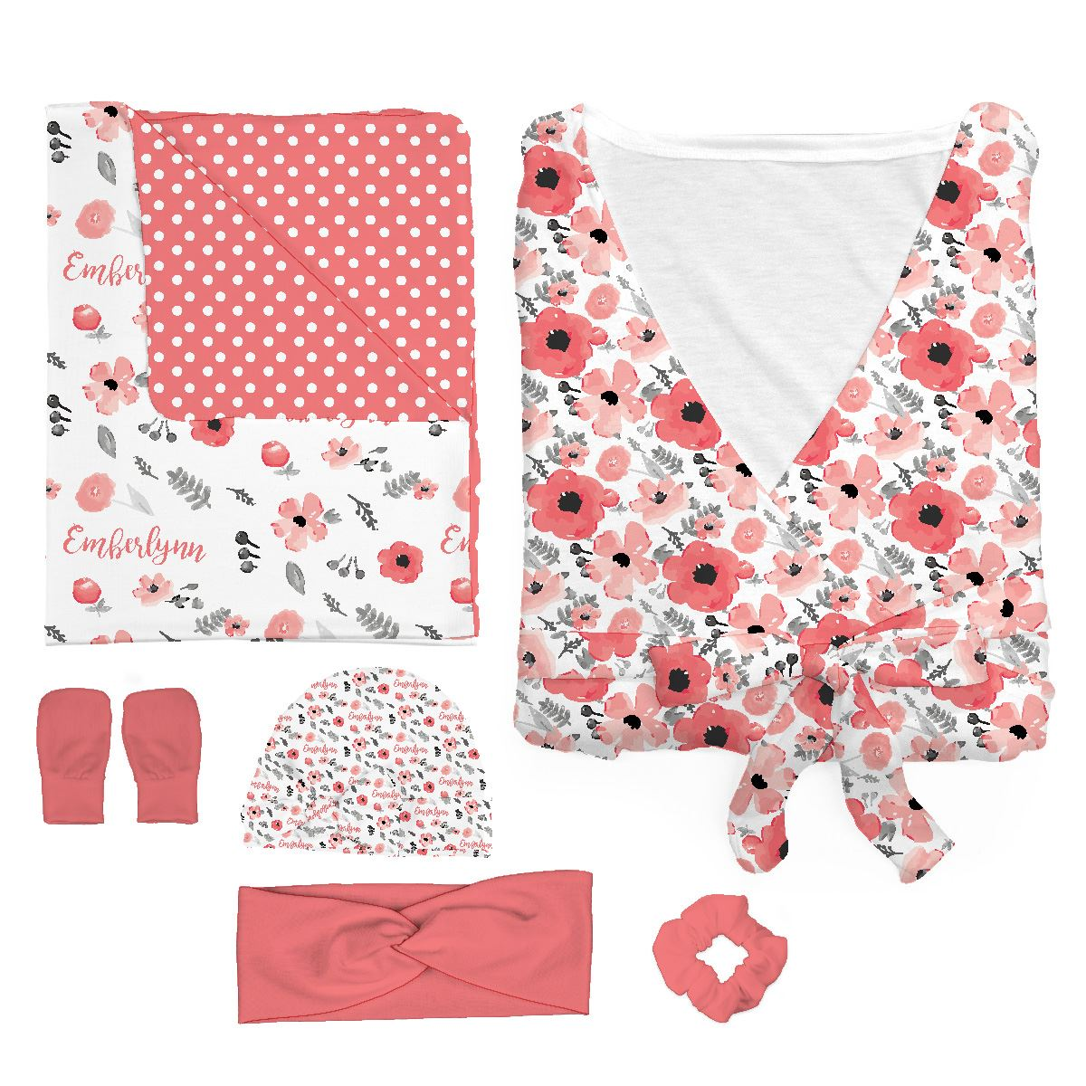 Emberlyn's Mountain Floral | Mommy & Me Bundle
