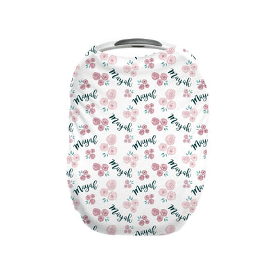 Cassidy's English Rose | Car Seat Cover (Multi-Use)