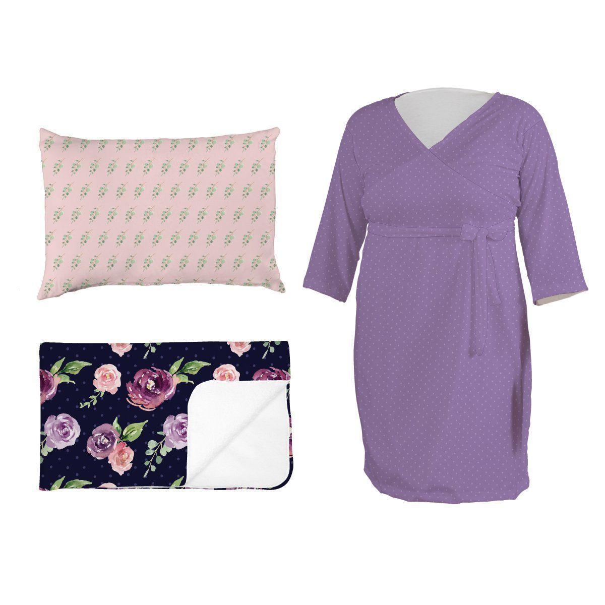 Margo's Magenta Floral | Mommy Bundle