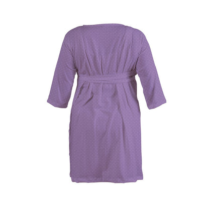 Margot's Magenta Floral Dot | Robe