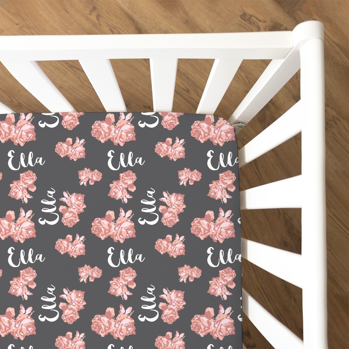 Nicole's Vintage Floral | Fitted Crib Sheet