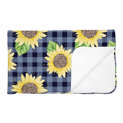 Summer's Sweet Sunflower | Adult Size Blanket
