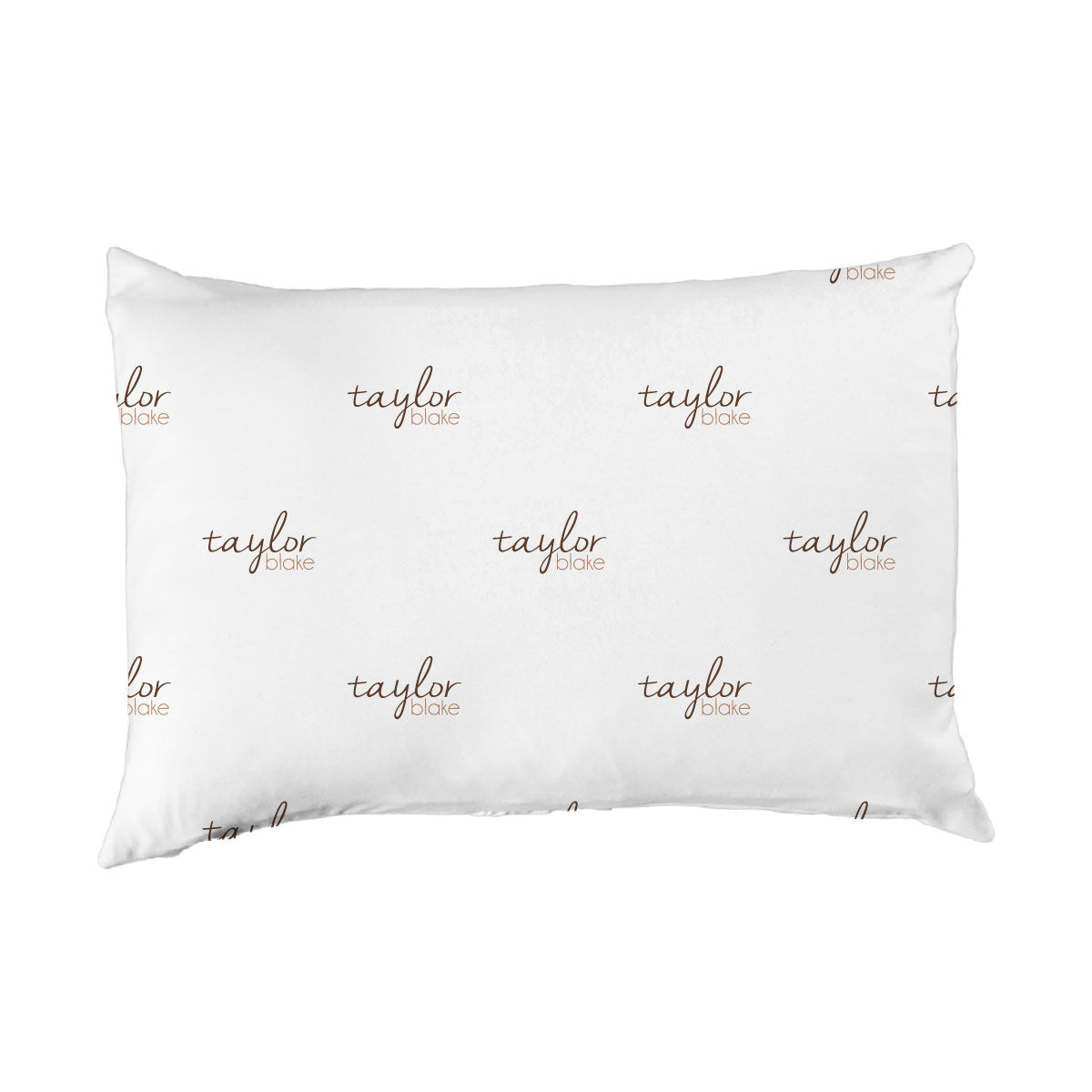 Taylor's Simple Dashes | Big Kid Pillow Case