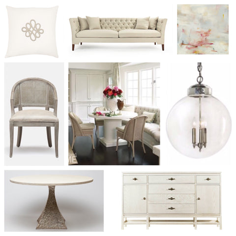 Choosing Banquette Seating Swatch Blog Sarah Virginia Home - Banquette table size