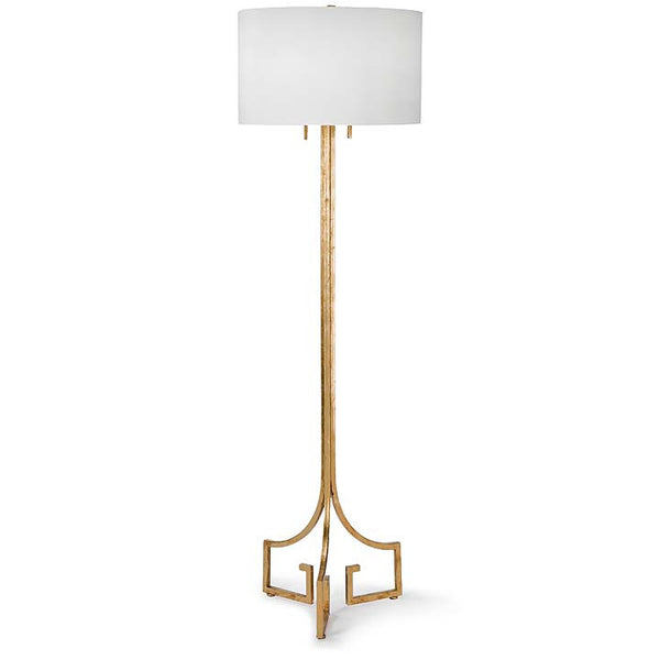 Le Chic Gold Floor Lamp - Sarah Virginia Home