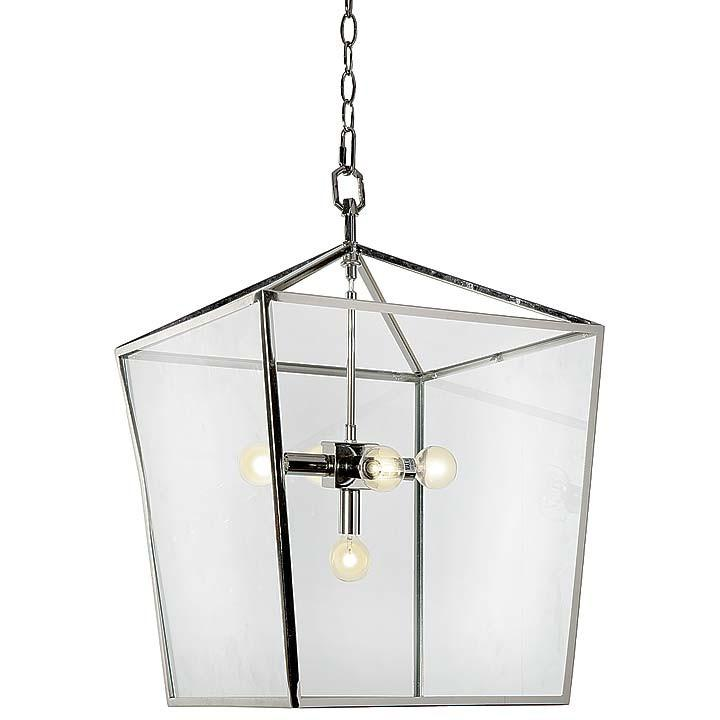 Carlton Lantern (Nickel) - Sarah Virginia Home