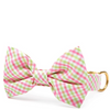 Spring Plaid Bow Tie Collar (Dog) - Sarah Virginia Home