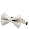 Gray Dot Bow Tie Collar (Cat) - Sarah Virginia Home