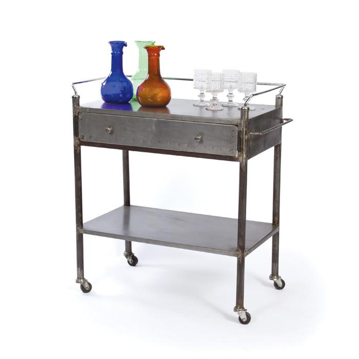 Industrial Bar Cart - Sarah Virginia Home