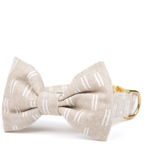 Flat Lines Bow Tie Collar (Dog) - Sarah Virginia Home