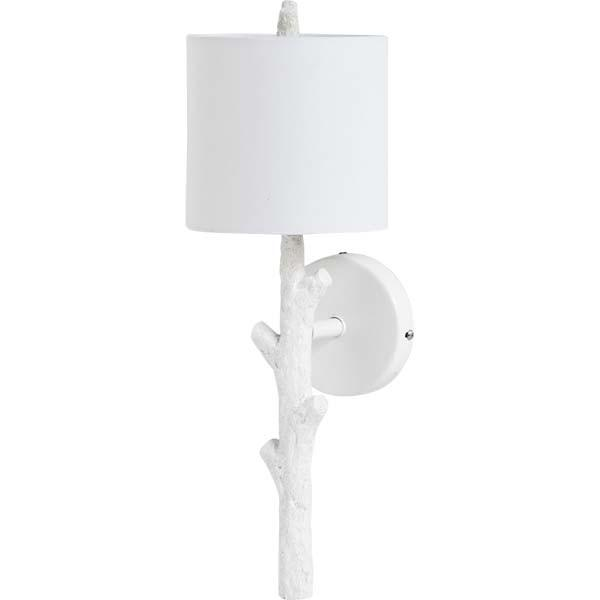 Resin Branch Sconce (White) - Sarah Virginia Home