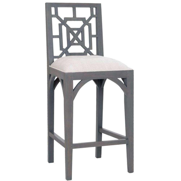 Fretwork Counter Stools - Sarah Virginia Home
